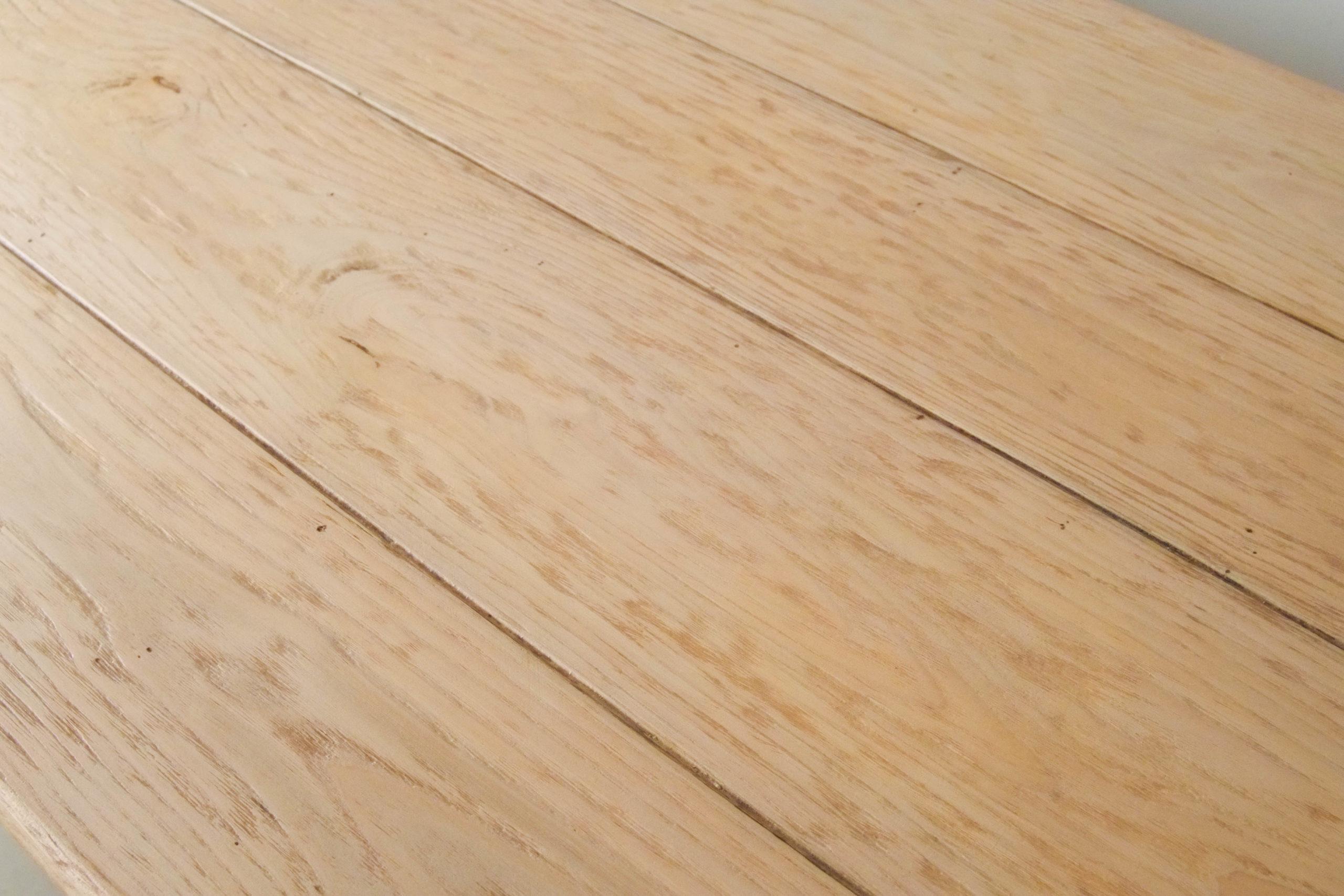 mesa de madera maciza surcos rustica