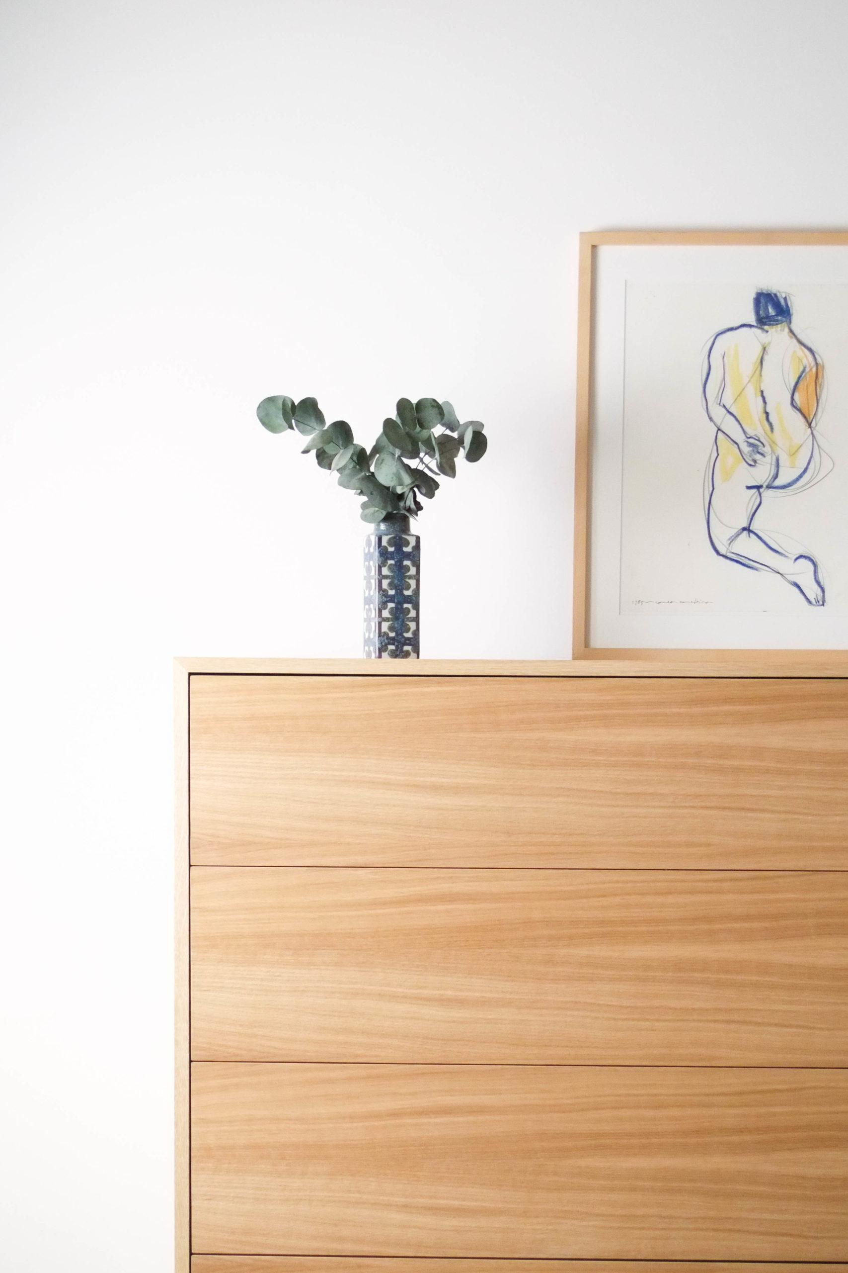 mueble cajonera de diseño hecho a mano de calidad