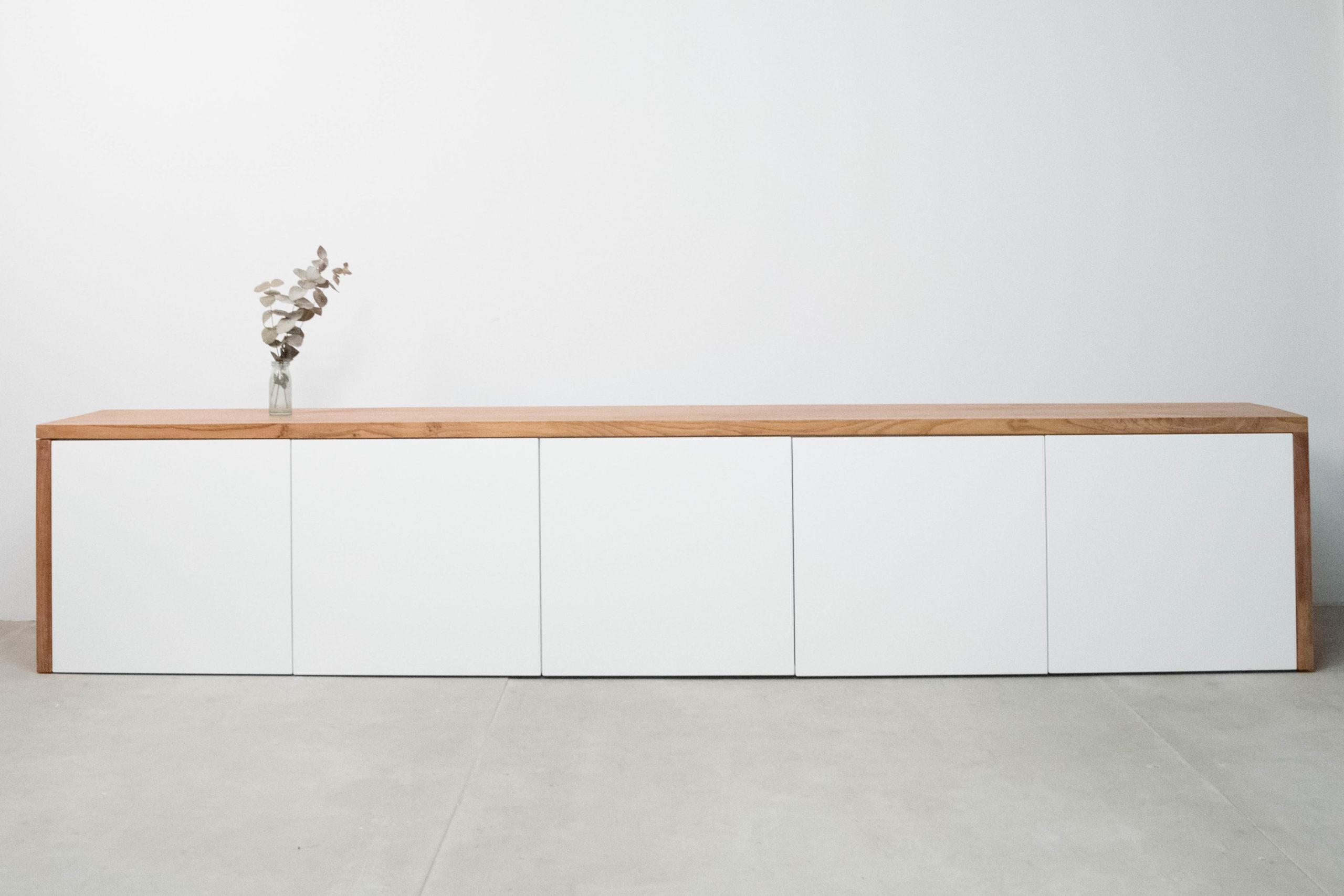 mueble aparador bajo tv salon pepita de oliva