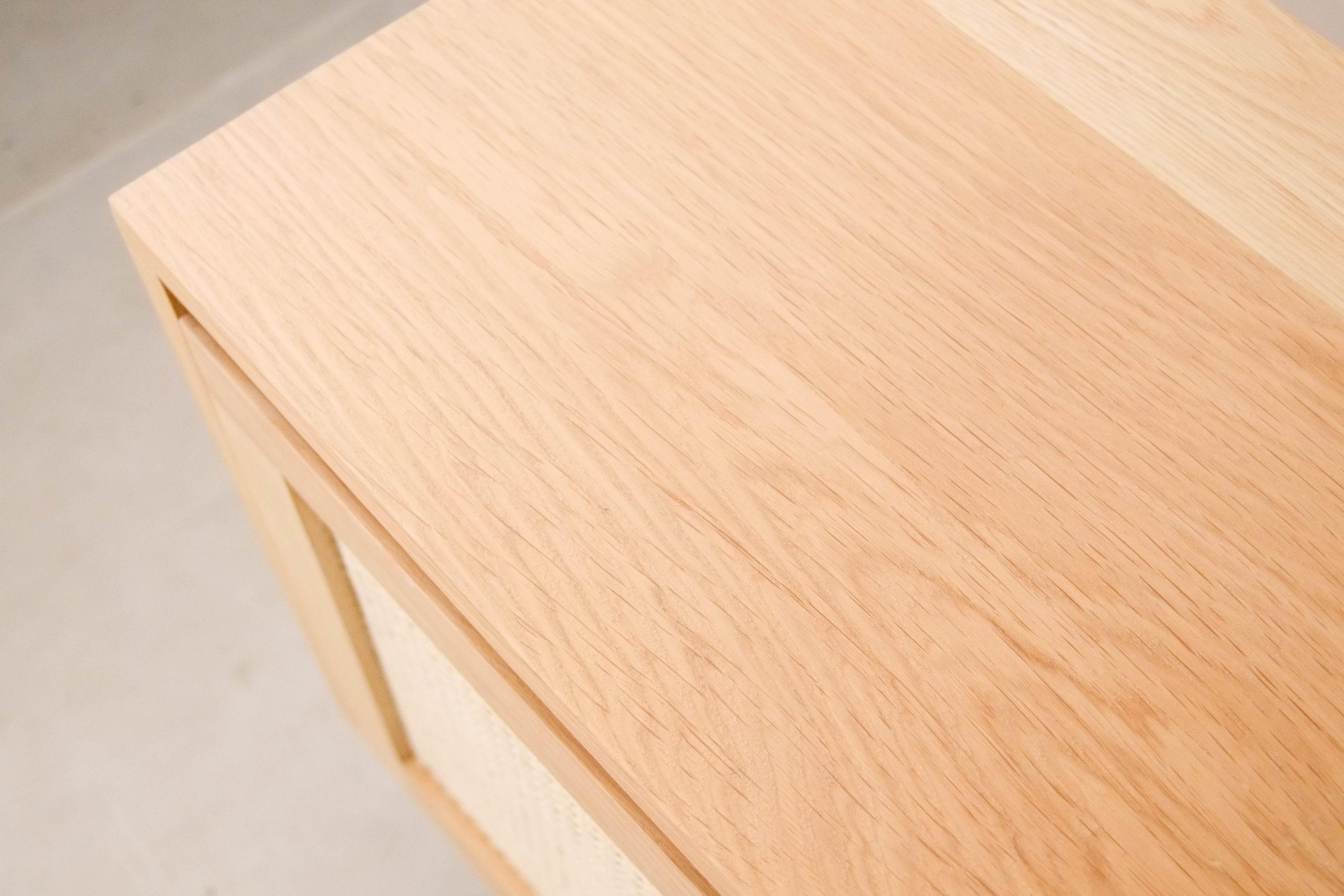 parte superior de madera natural de diseño hecho a mano diseño