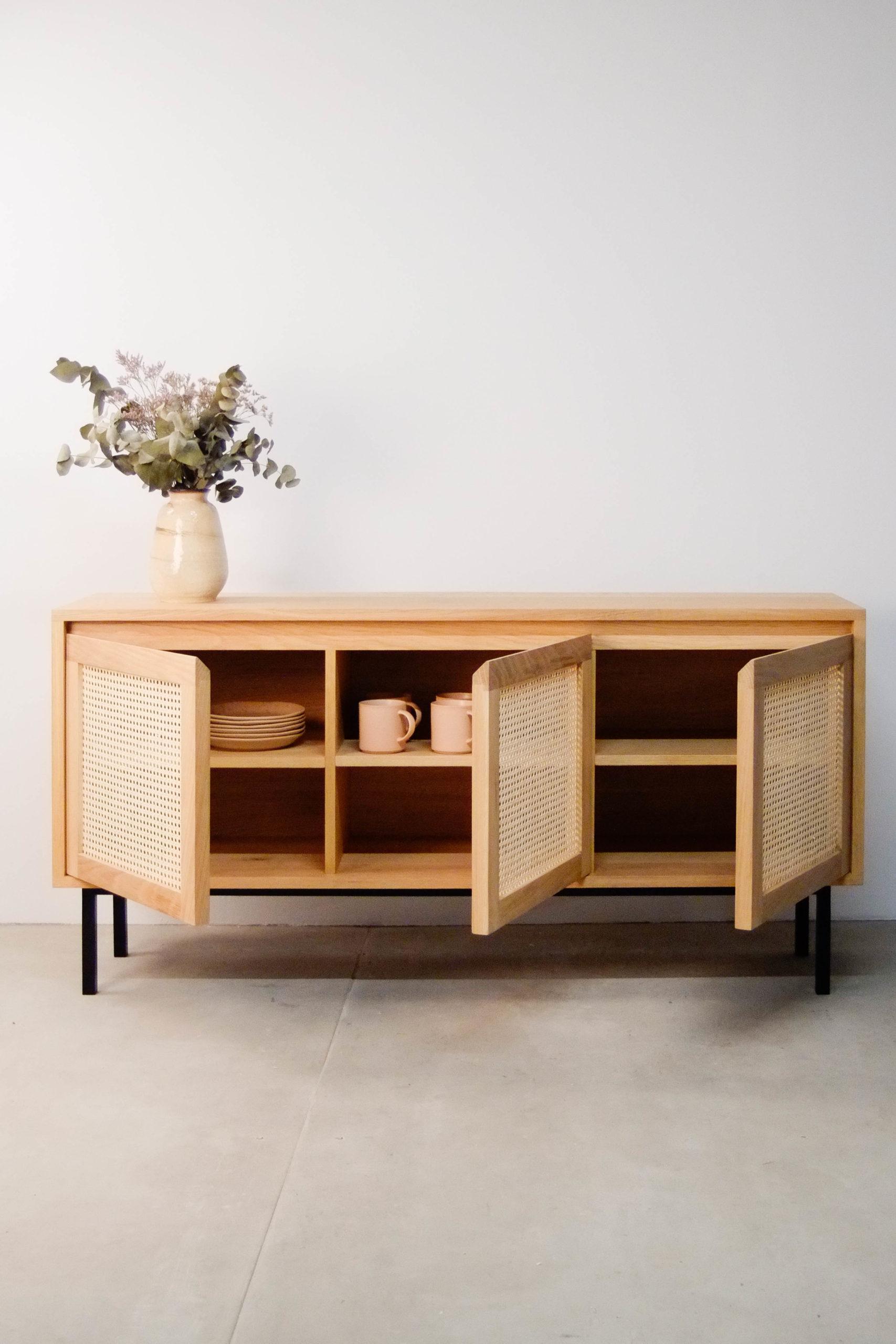mueble capacidad de salon salita habitacion de calidad hecho a mano