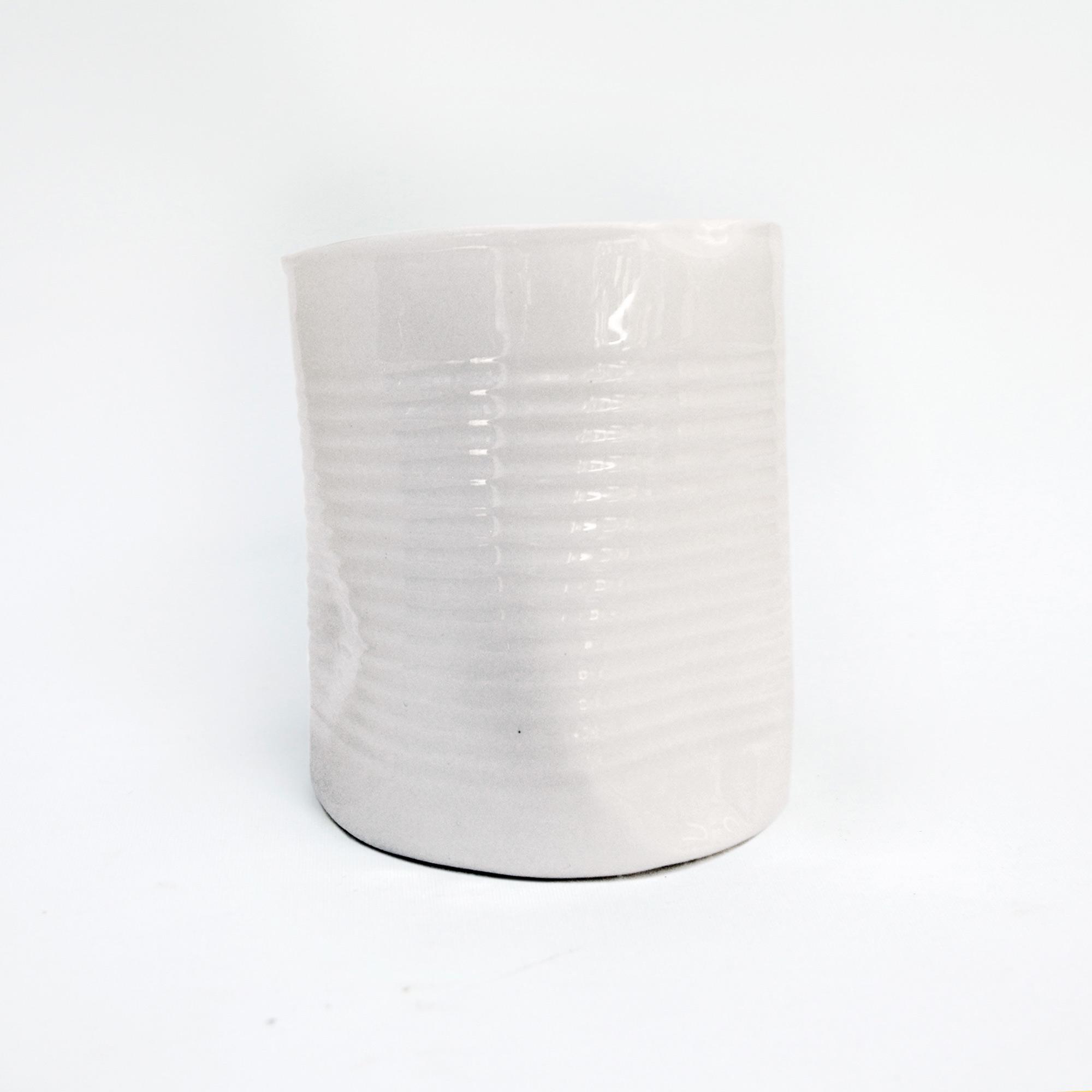 lata grande jarron vaso tarrina vaso de calidad artesania