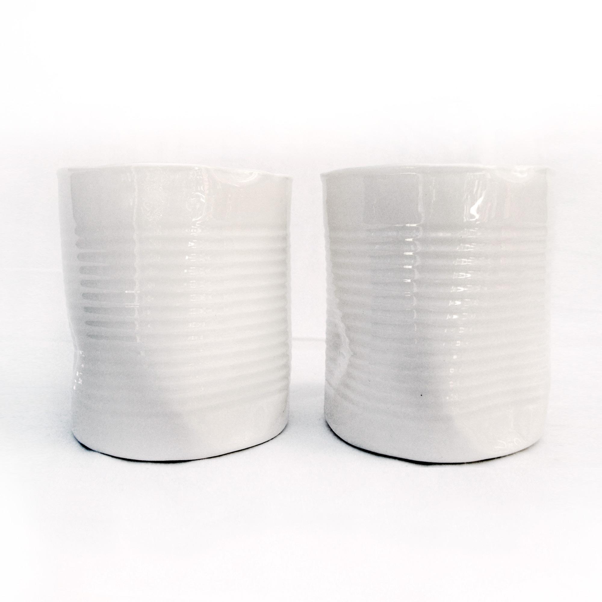 latas tarros de diseño artesania miyaya blanco