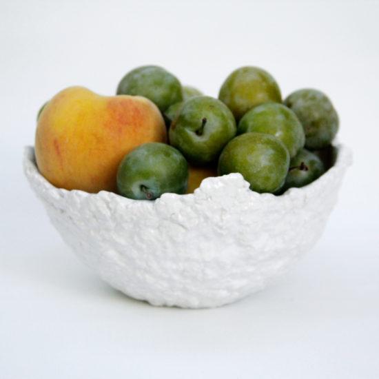 frutero diseño hecho a mano cuenco bowl fuente de calidad