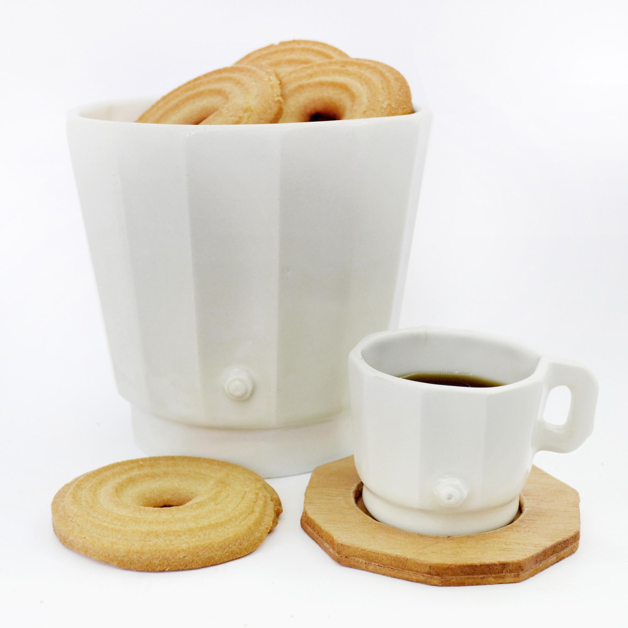 bol recipiente blanco de diseño fabricado a medida color blanco loza ceramica hecho a mano