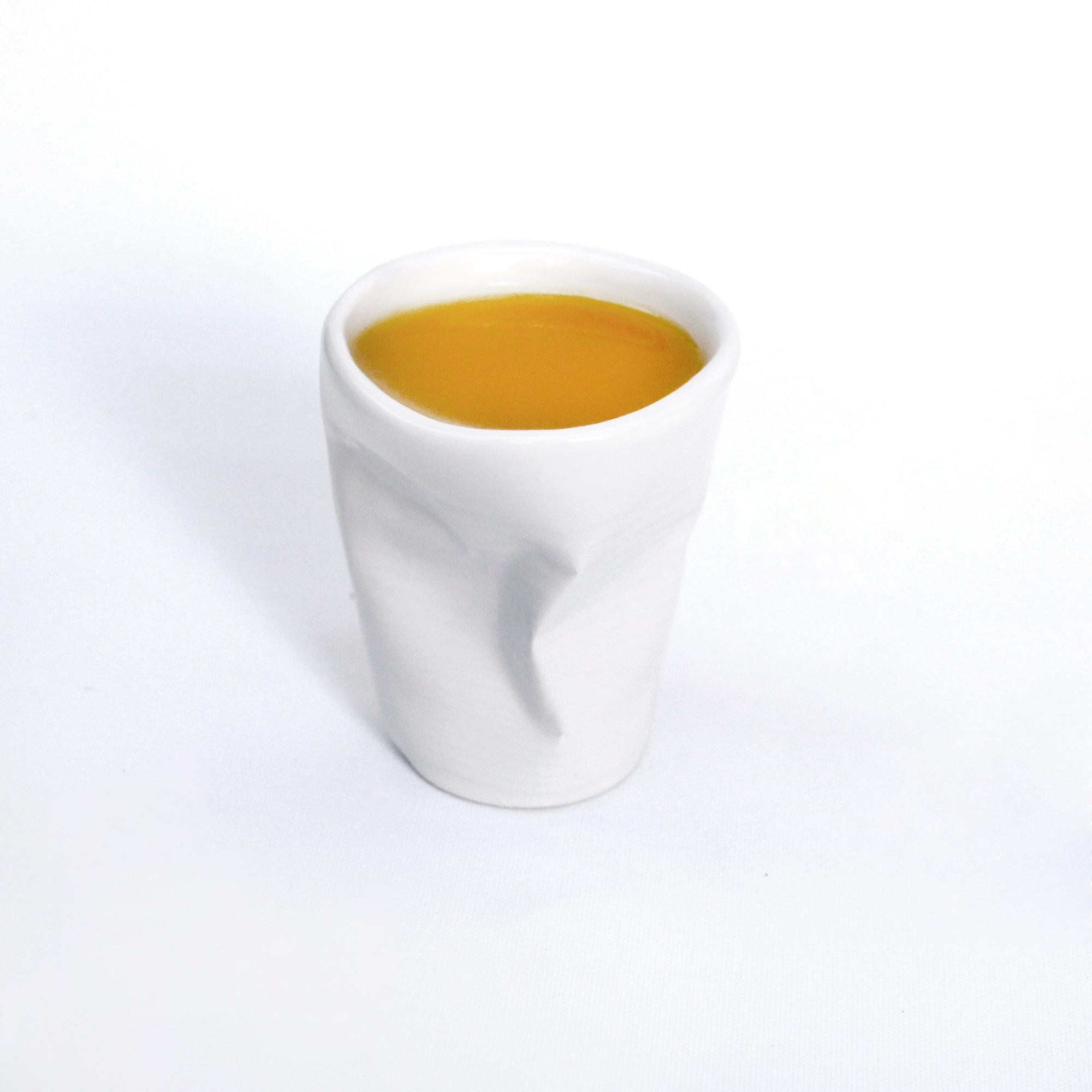set de vasos de diseño blancos ceramicos de calidad hechos a mano