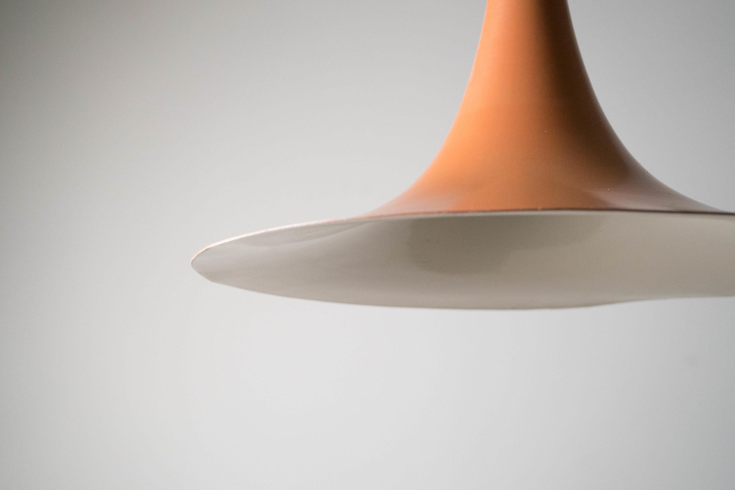 lampara de techo curva redonda
