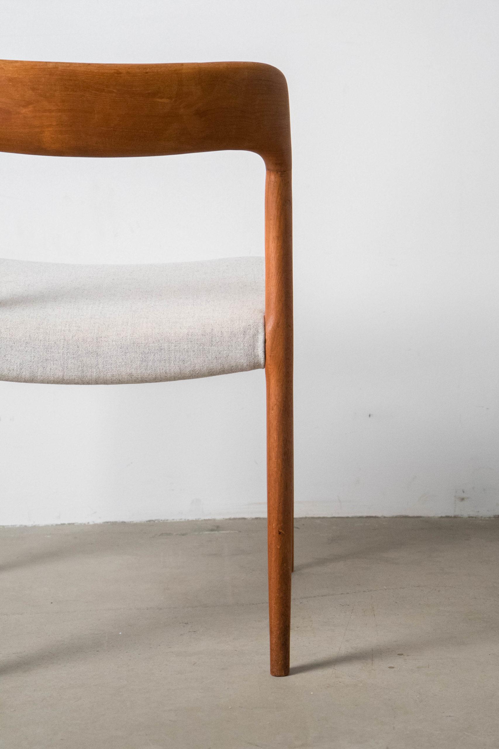 silla detalle de tapizado