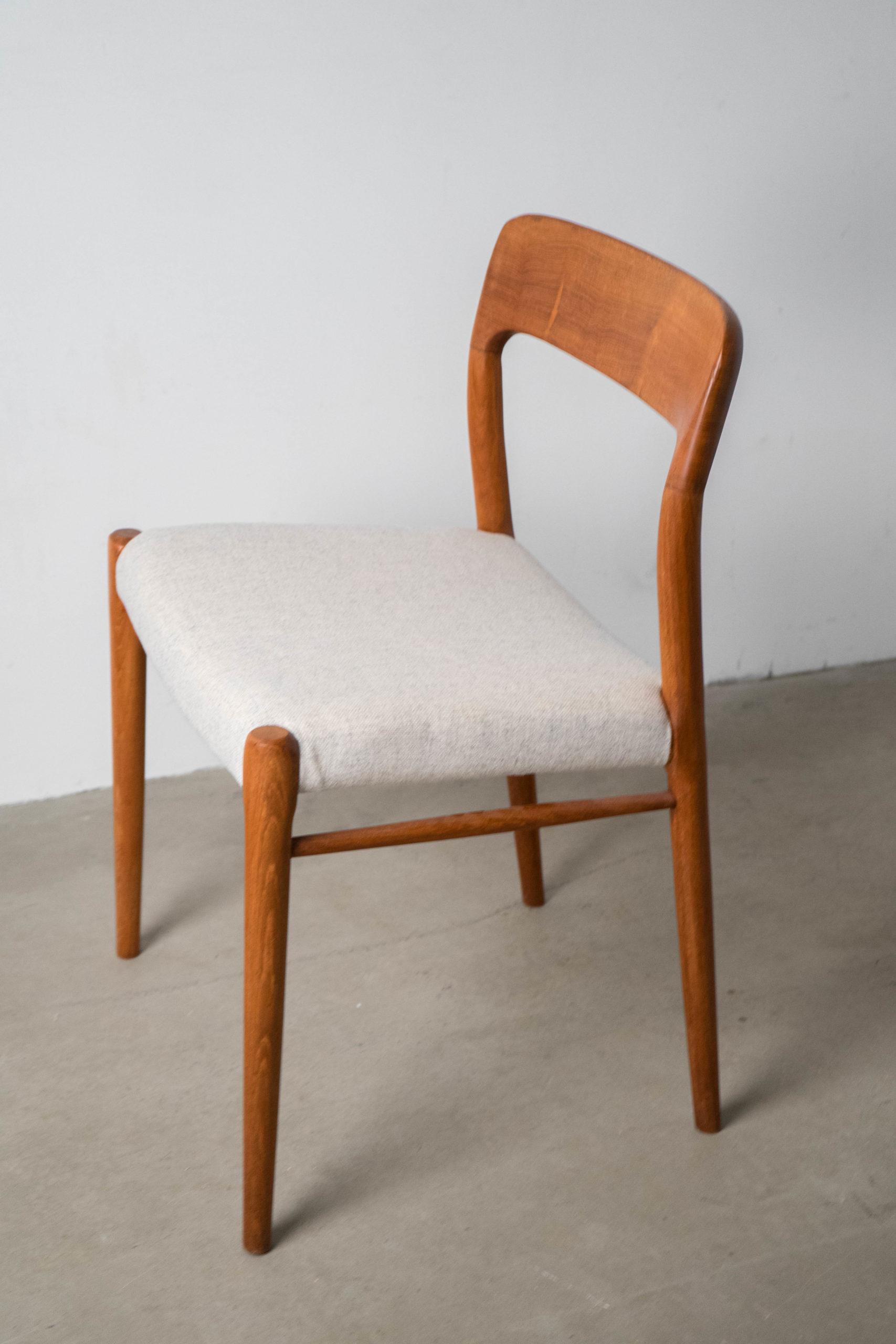 silla moller madera teca