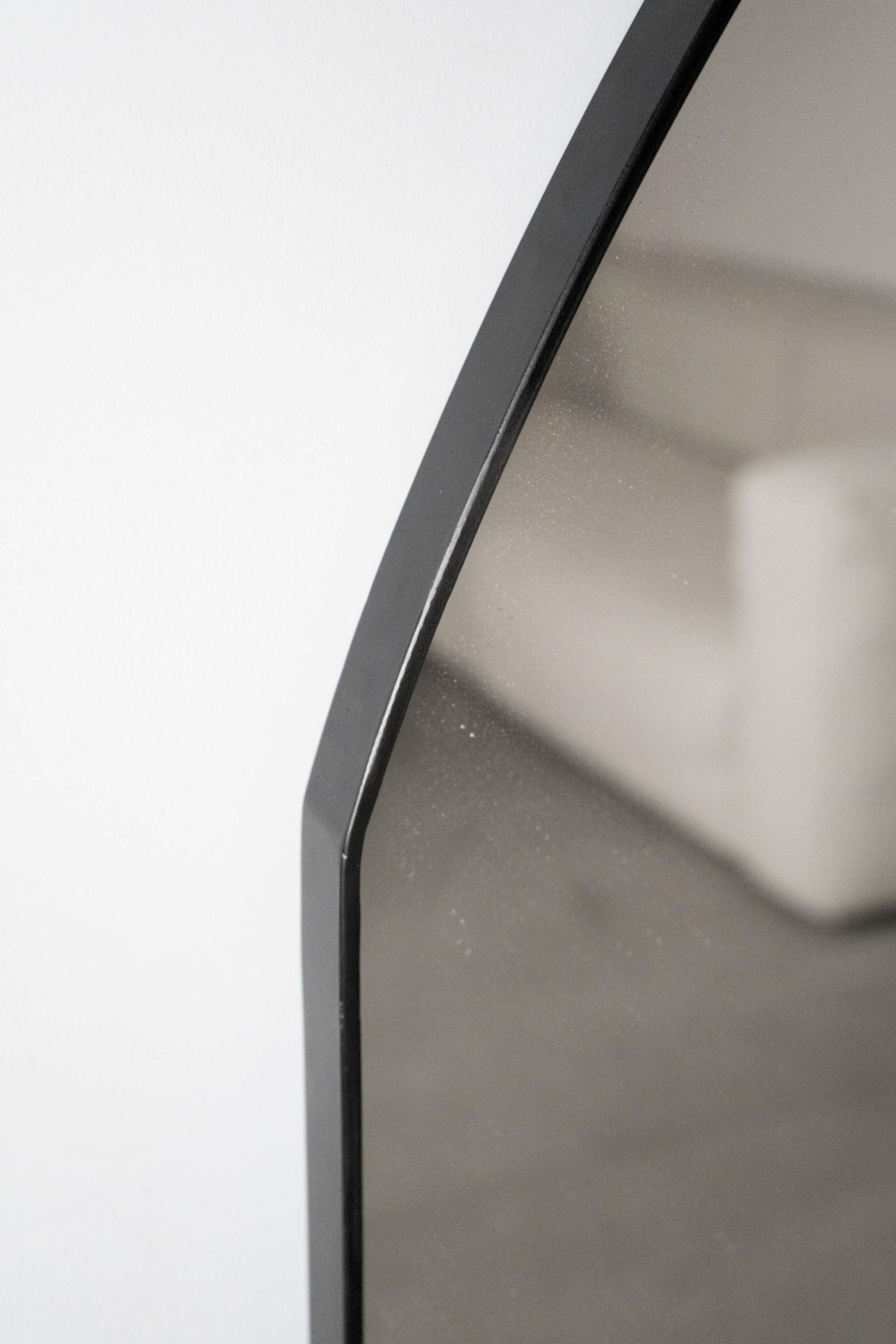espejo pepita de oliva negro