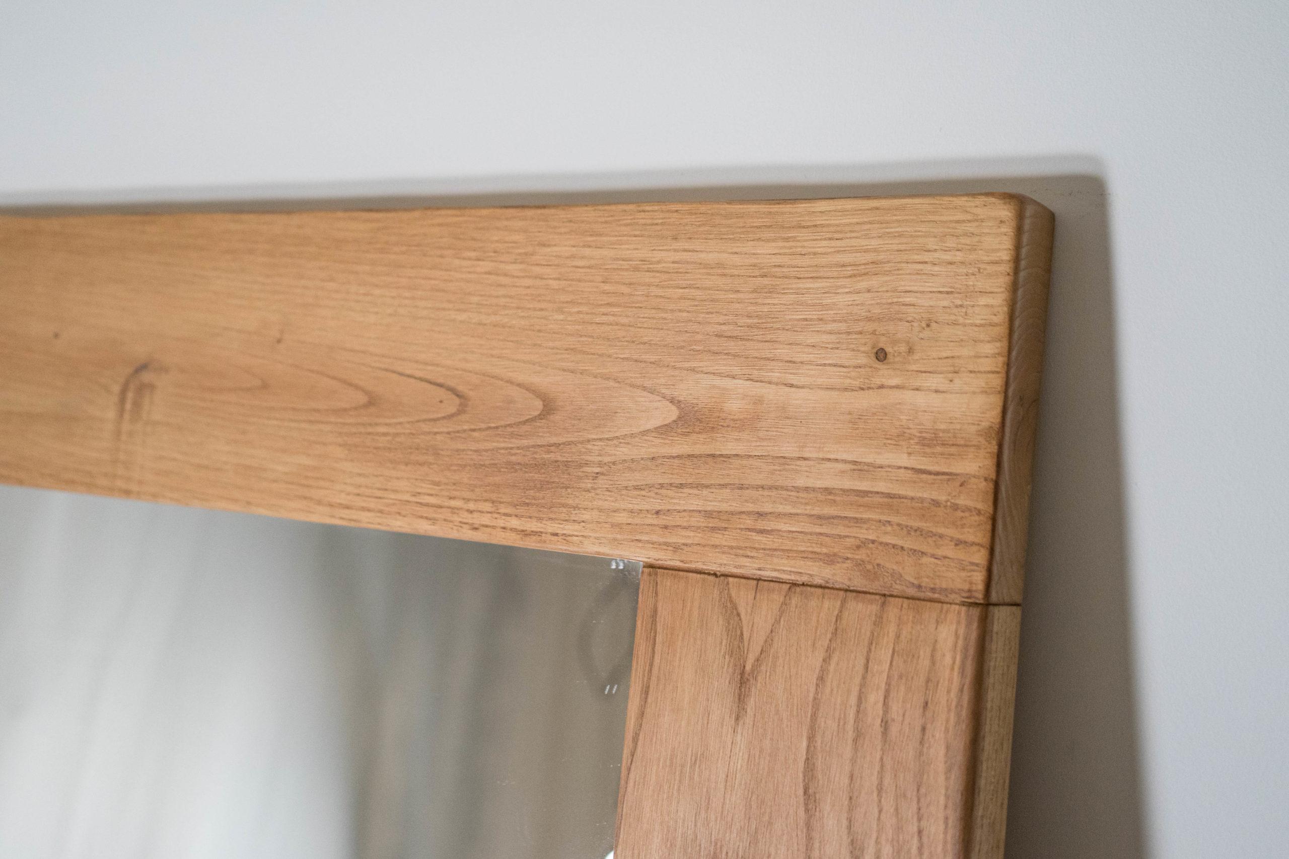 madera de castaño espejo bonito
