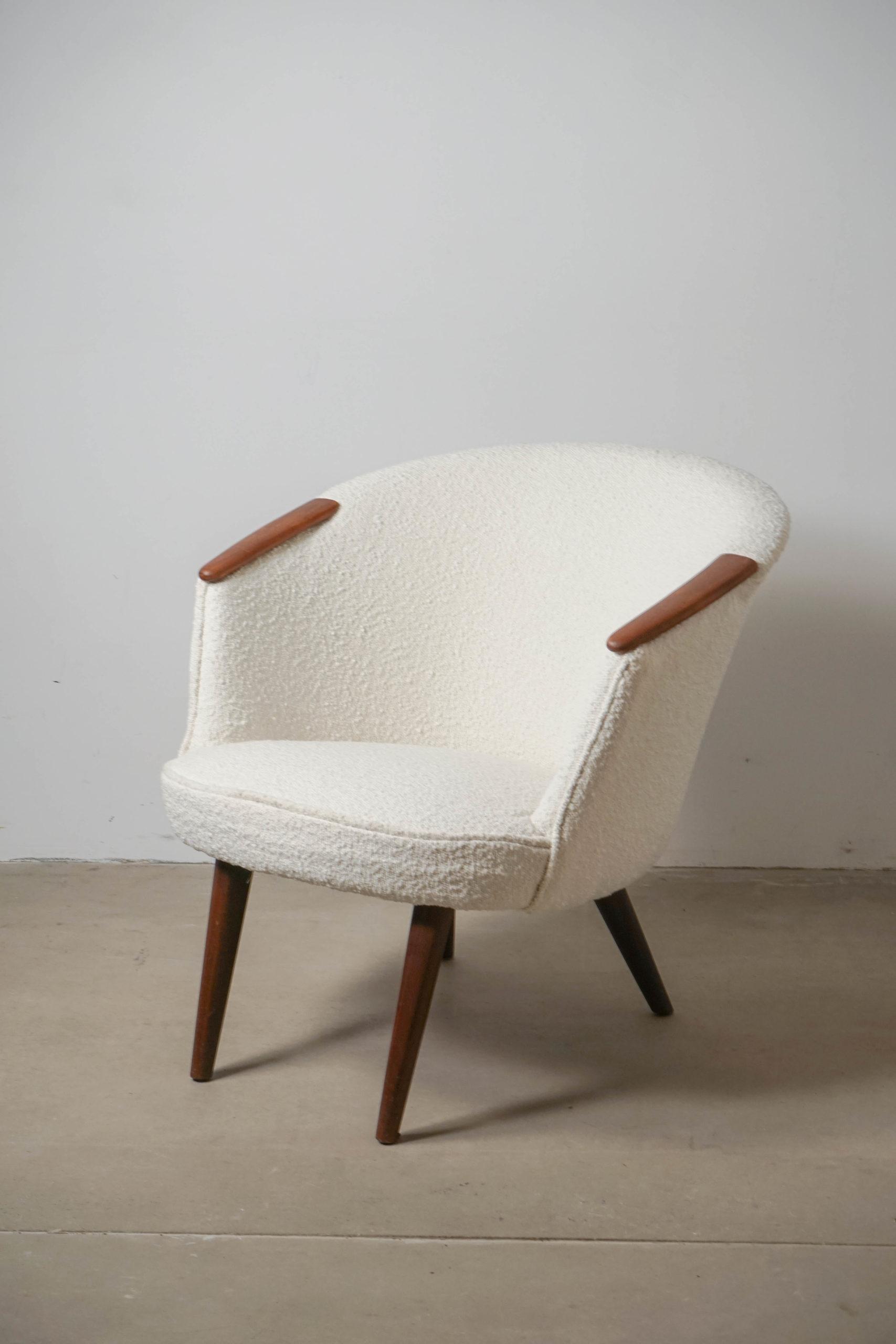 butaca nanna ditzel de salon vintage de diseño