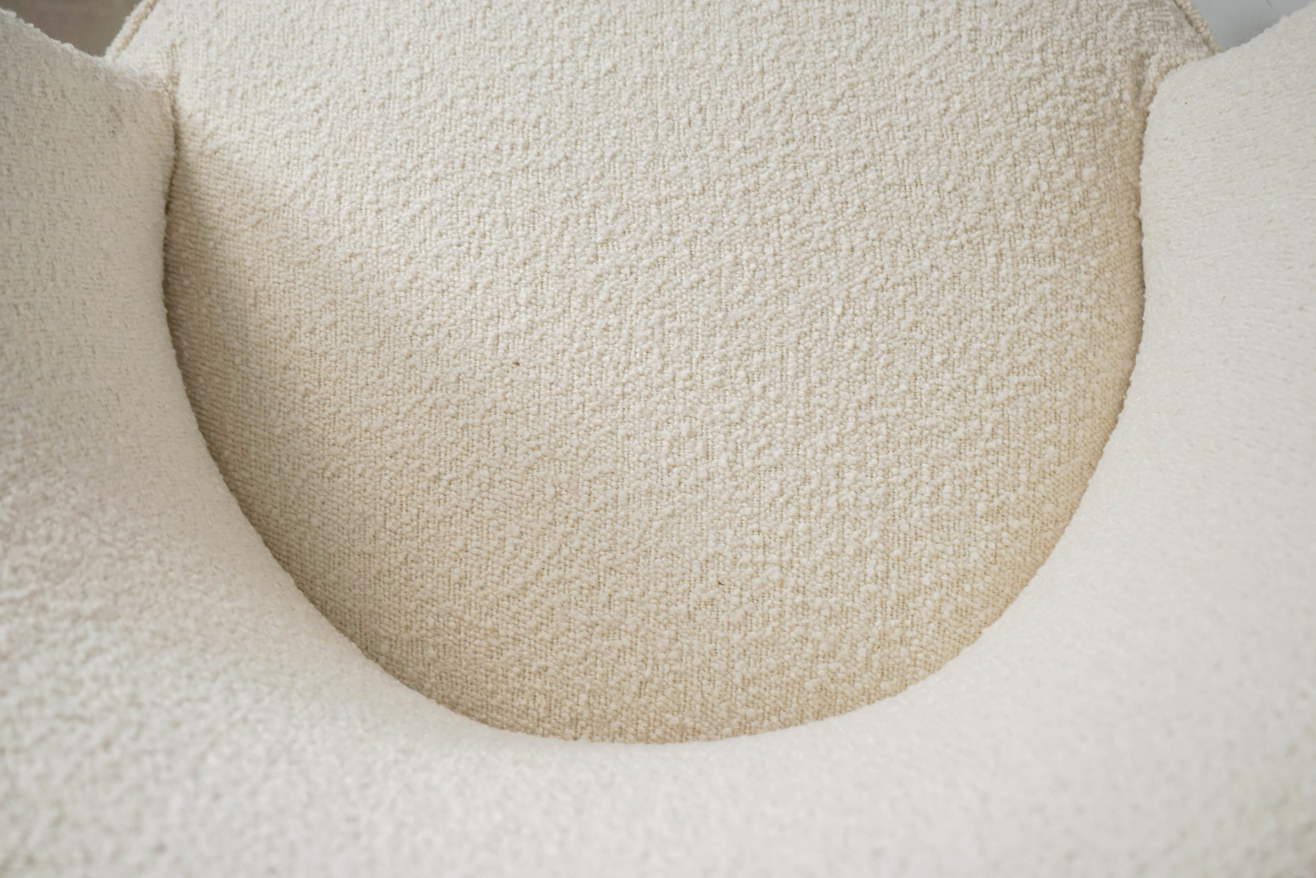 butaca tapizada de madera danesa