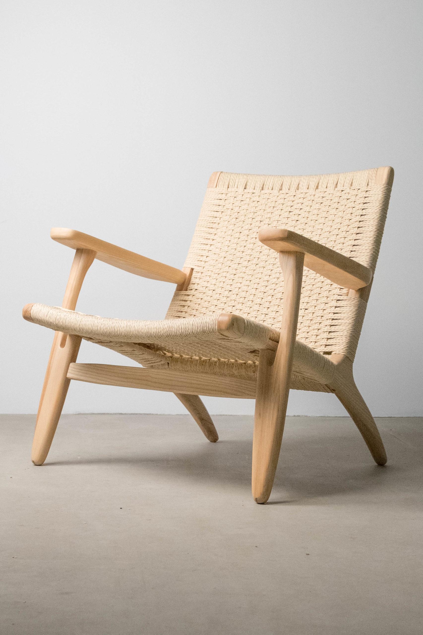 butaca hc25 de diseño madera roble de calidad salon