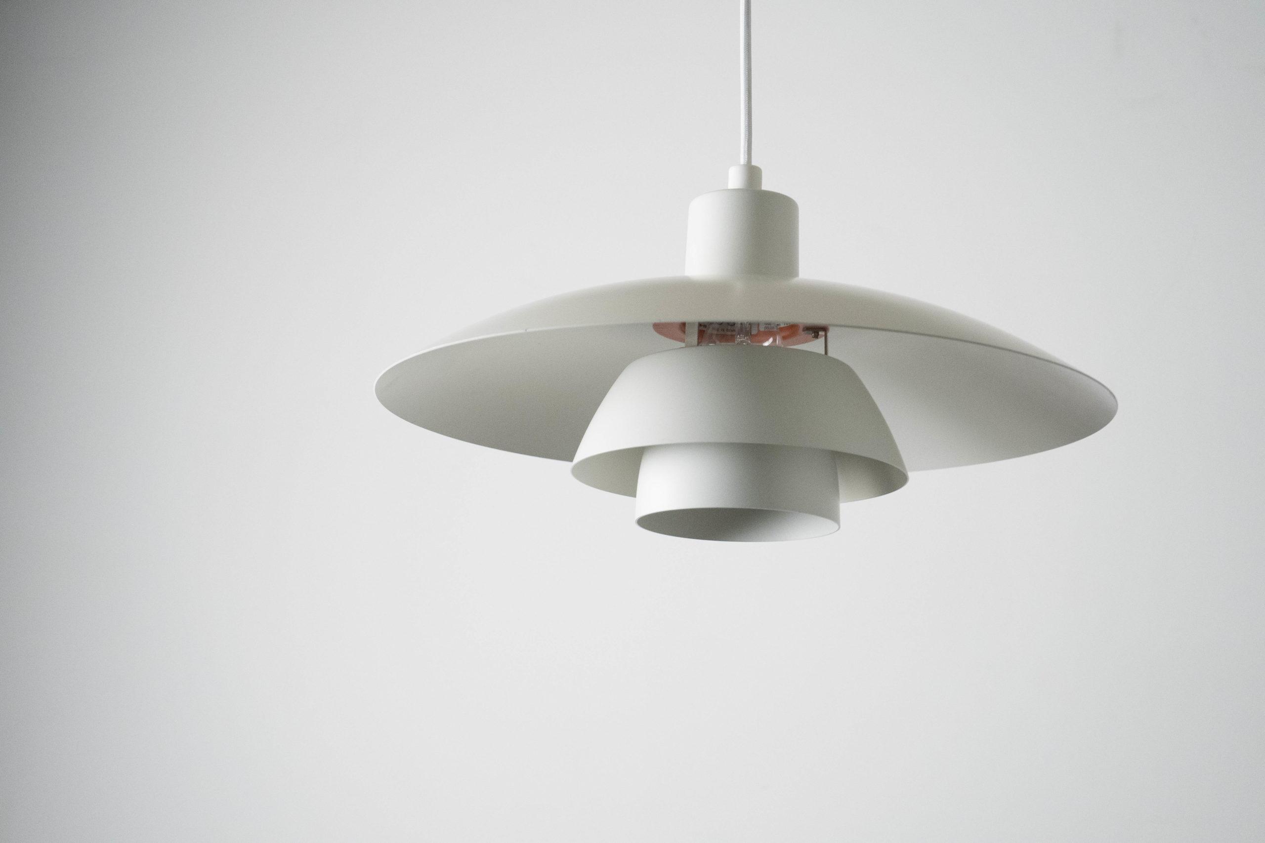 lampara hojas de diseño redonda