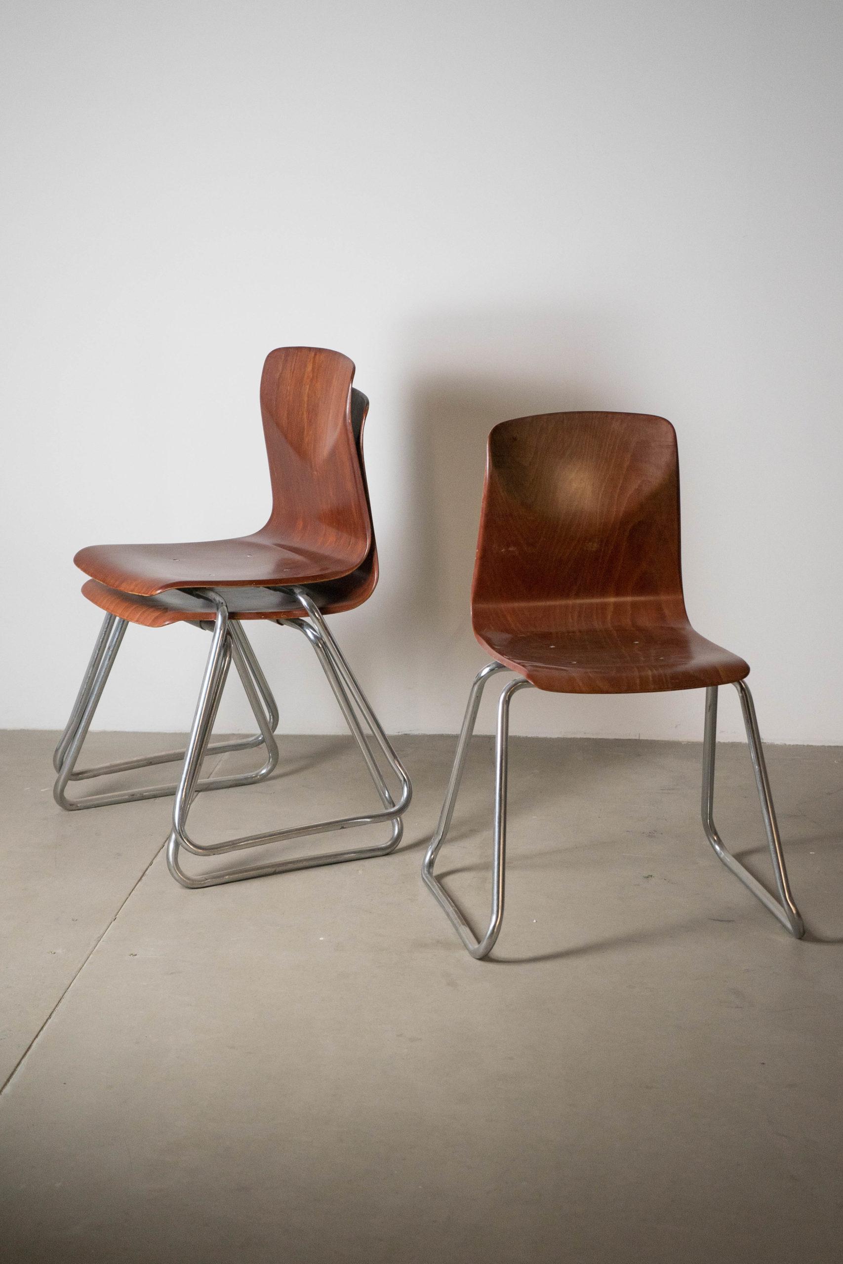 silla de comedor de diseño hecha a mano