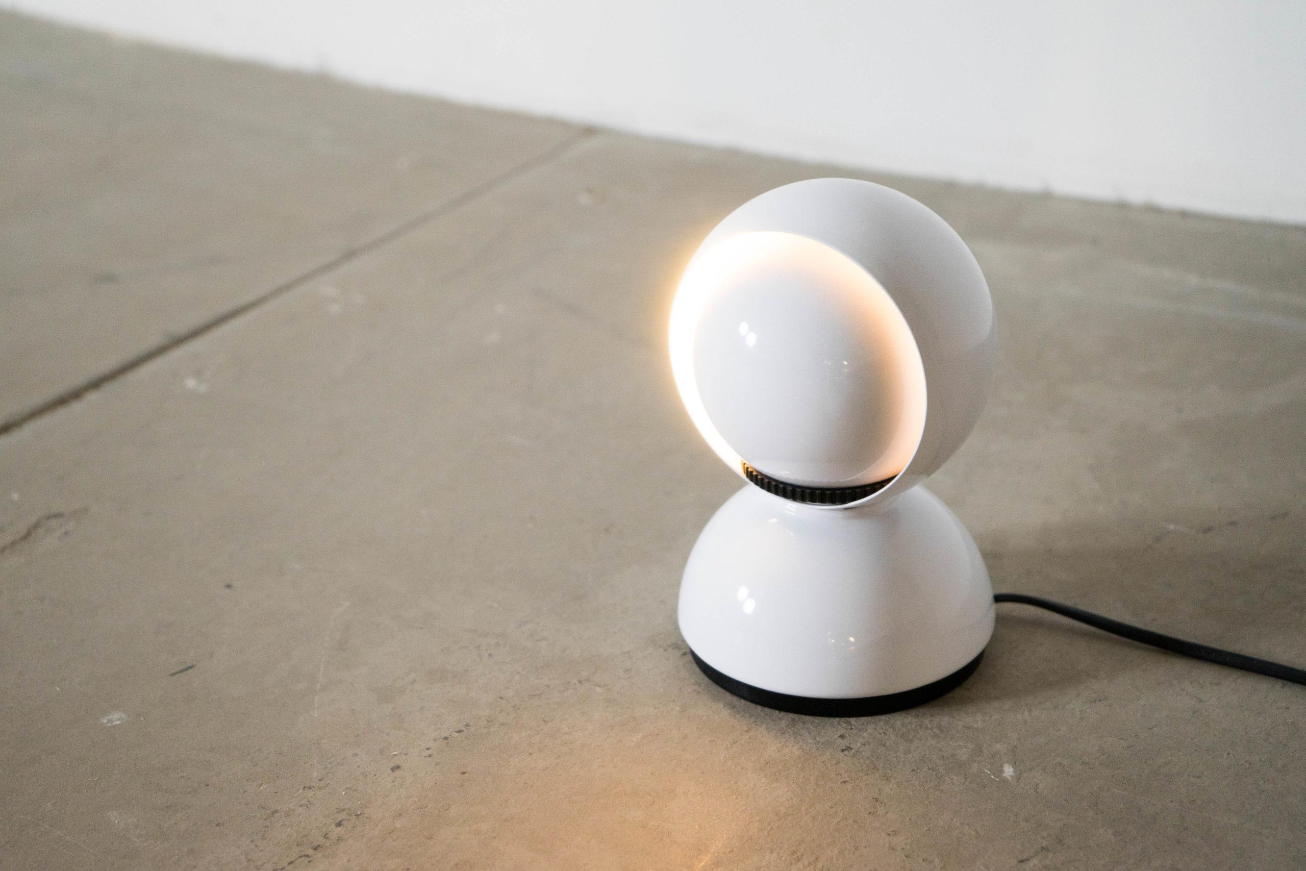lampara de mesa eclisse vico magistretti