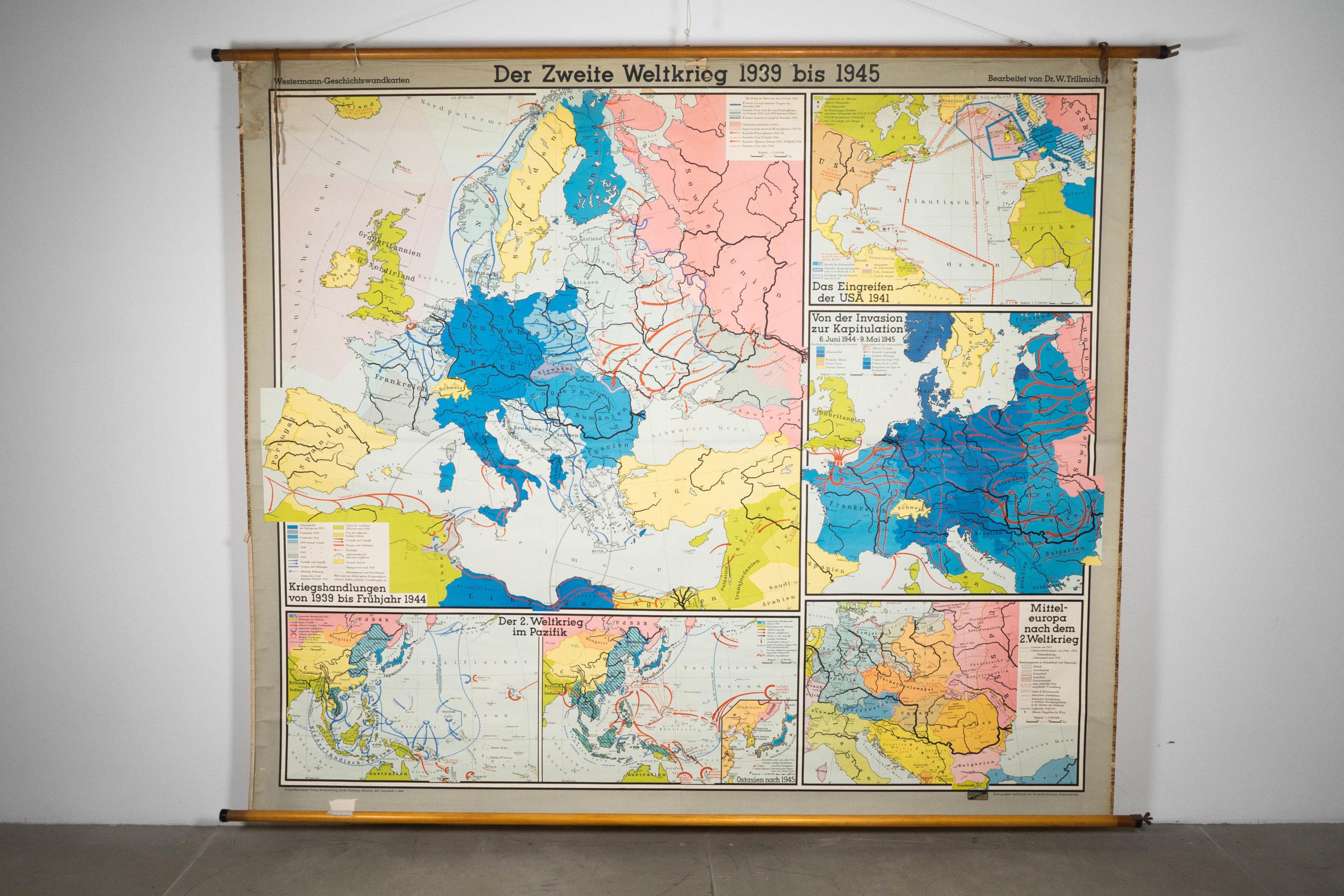 mapa politico de alemania didactico