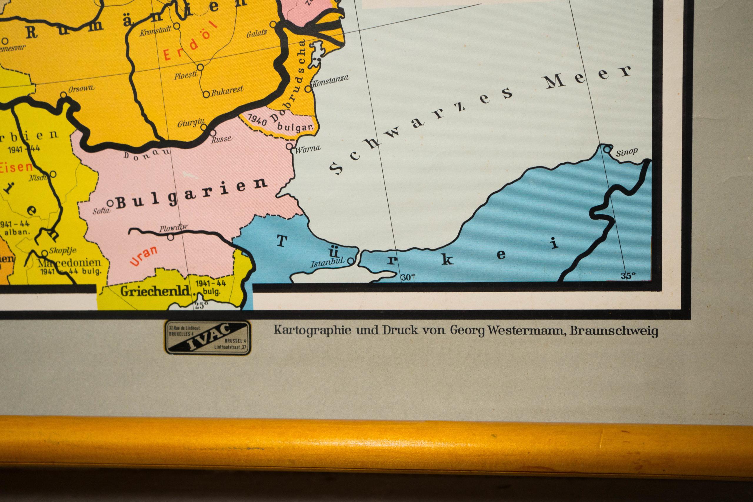 detalle de leyenda mapa politico de colores