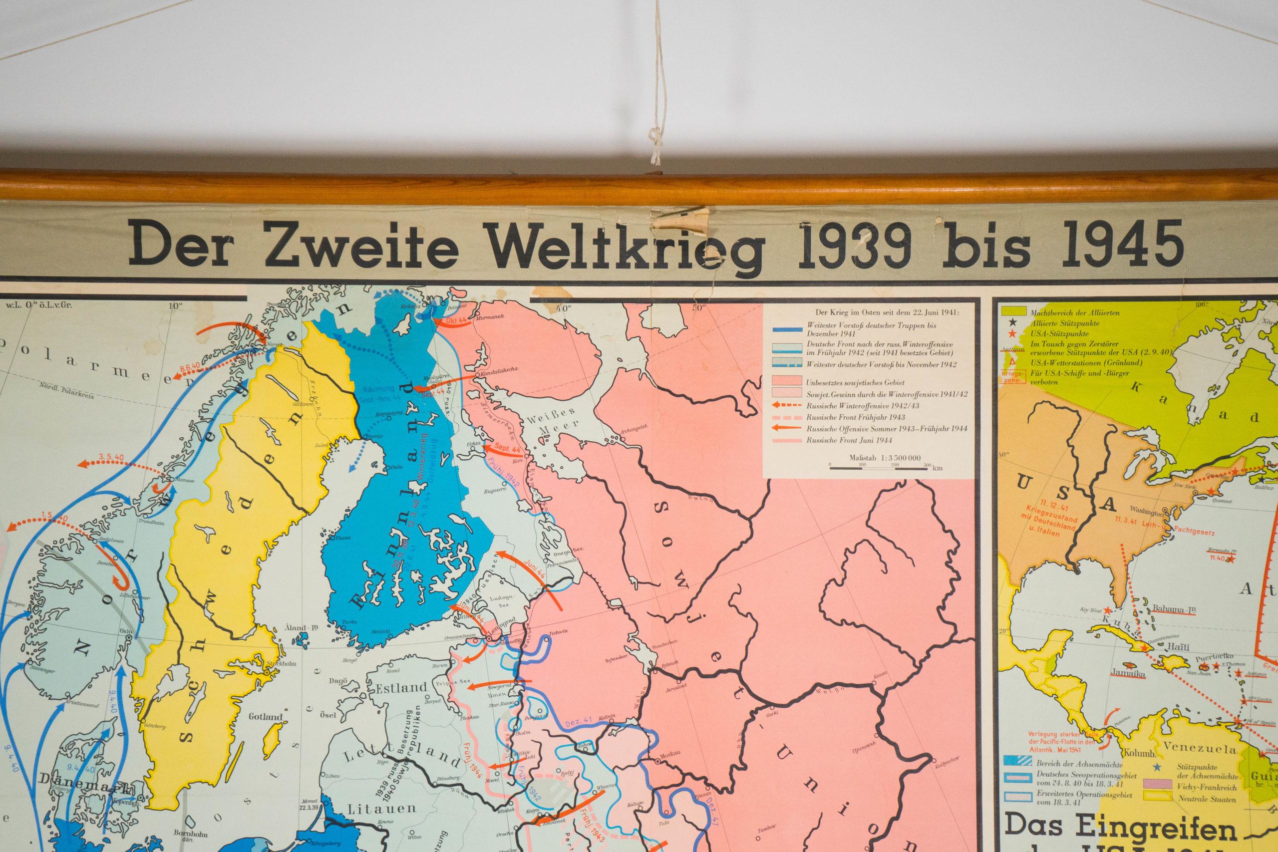 mapa de colores de alemania politico de la guerra diactico