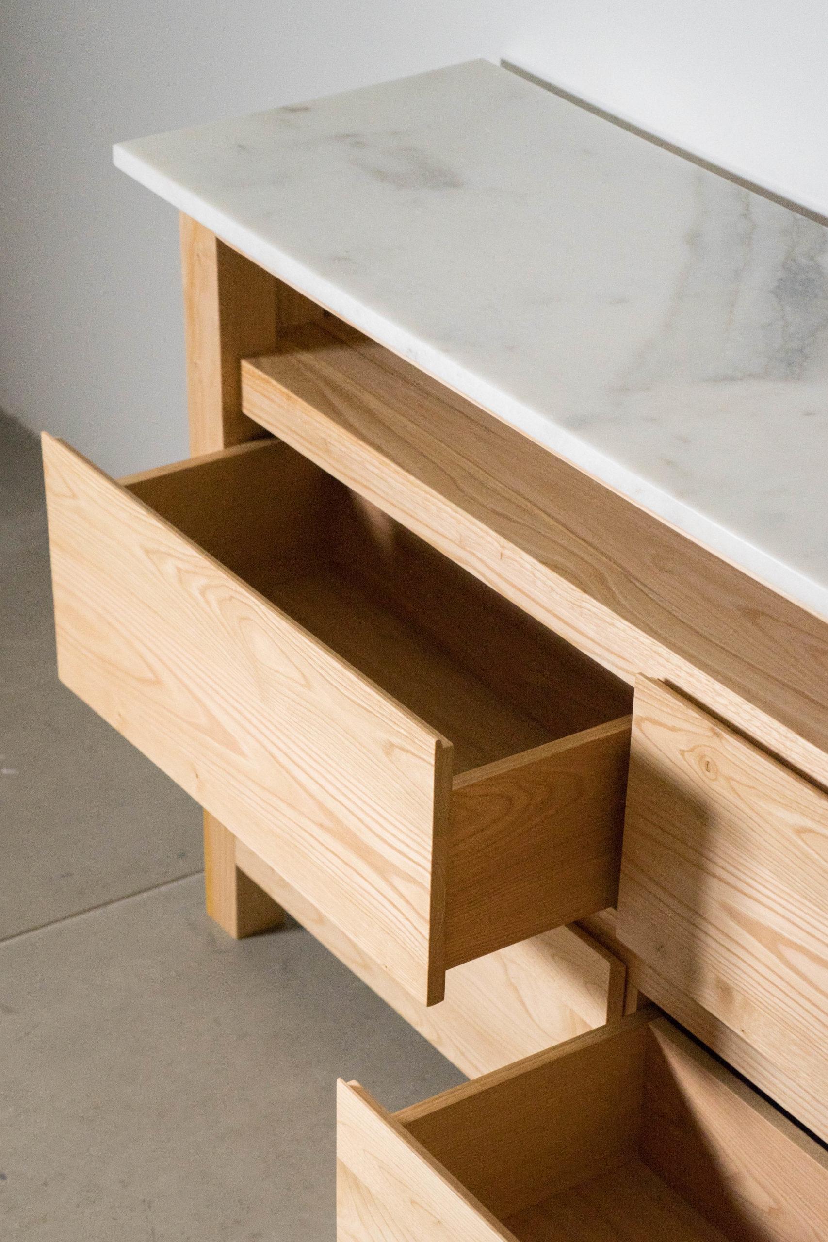 cajon de madera mueble pepita de oliva