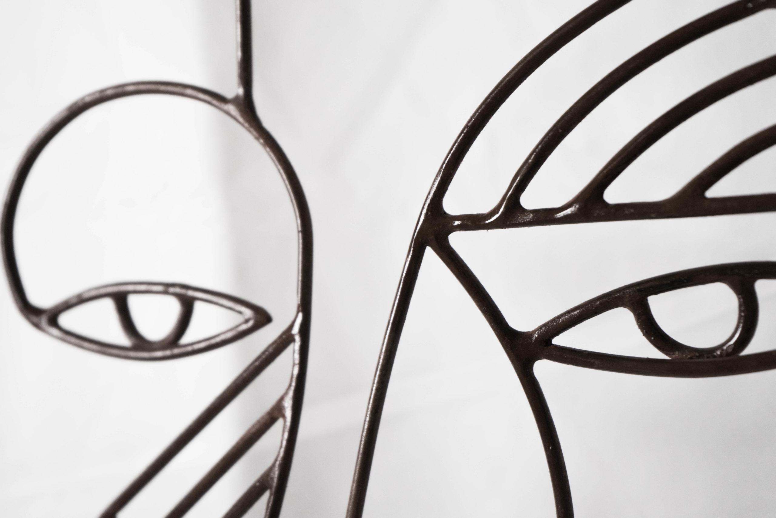 detalles de acabados escultura fabricada a mano