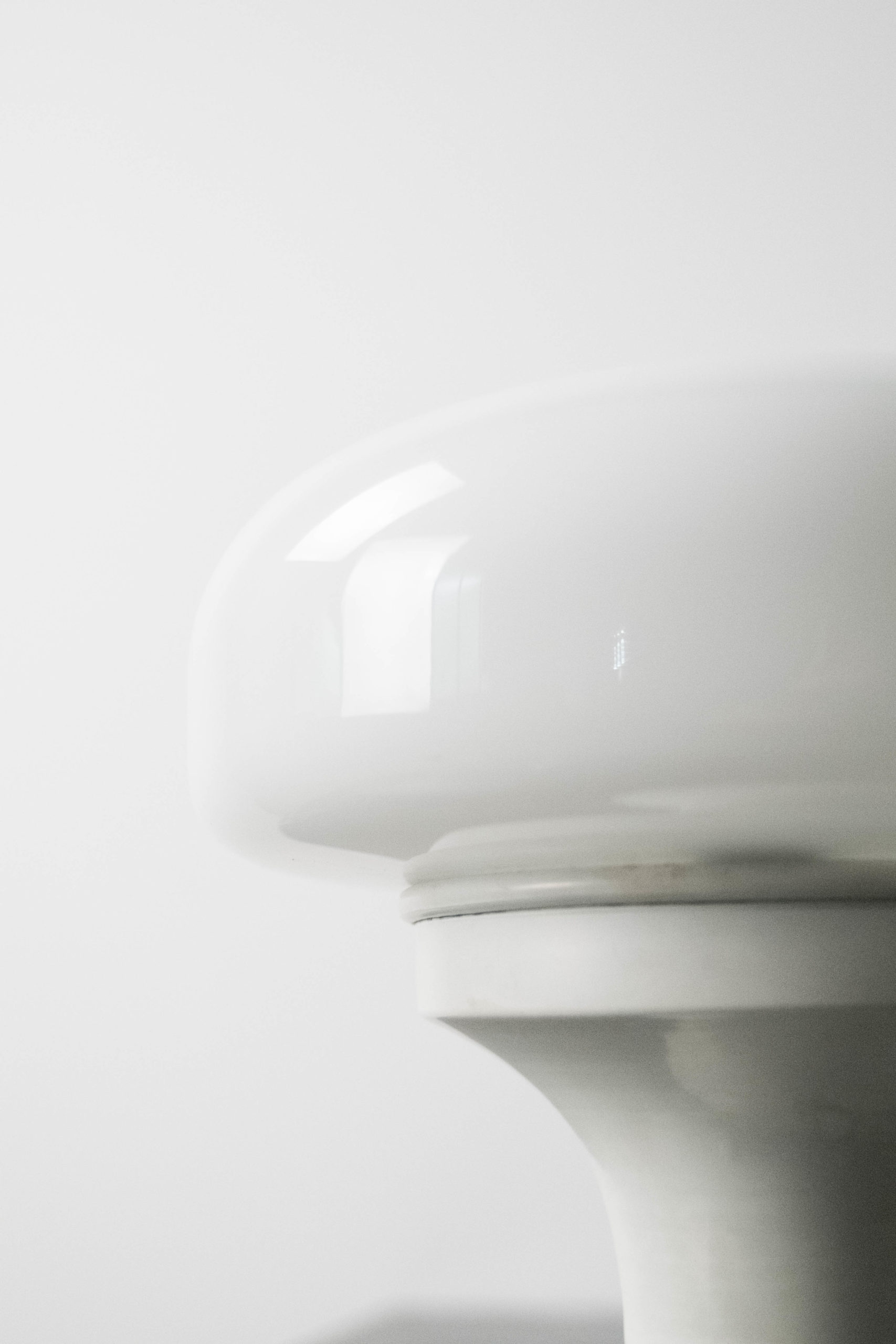 lampara seta blanca vintage